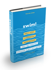 swim motivational book shark mindsets