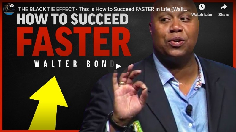 THE BLACK TIE EFFECT – This is How to Succeed FASTER in Life